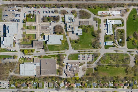 Cartographie municipale par drone