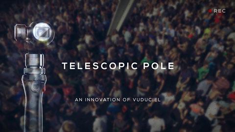 Telescopic pole - Demo reel #2
