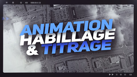 Animations, habillage graphique et titrage - Demo reel