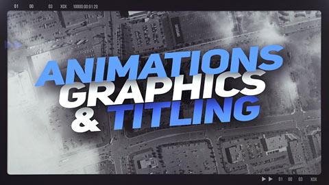 Animations, graphics & titling - Demo reel