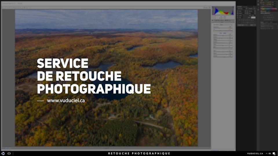 Service de retouche photographique