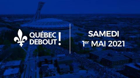 Québec Debout! au Stade Olympique